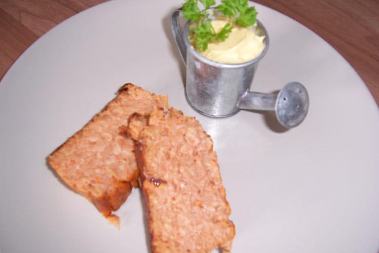 Pain de thon au surimi
