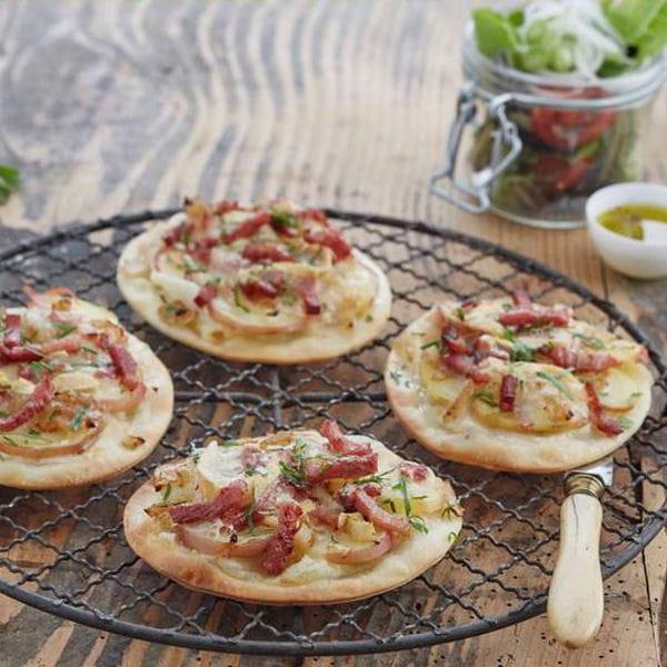 Mini Pizzas Savoyardes