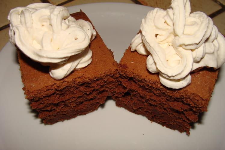 Gâteau chocolat-gingembre