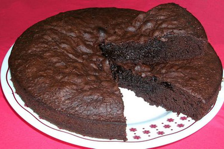 Moelleux au chocolat et ses M&M'S