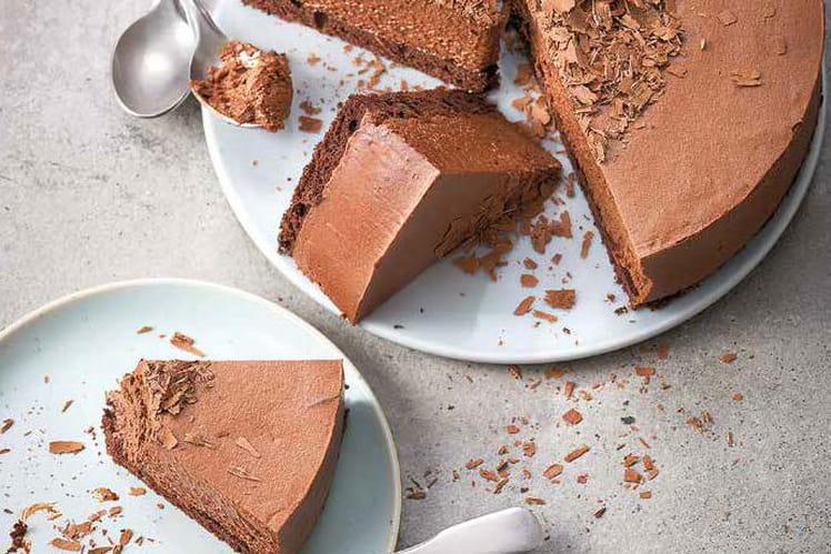 Nuage chocolat (sans gluten et sans lactose)