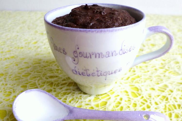 Mugcake végétarien hyperprotéiné chocolat Yannoh psyllium