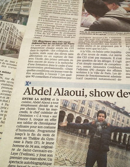 Abdel Alaoui, un chef à la page