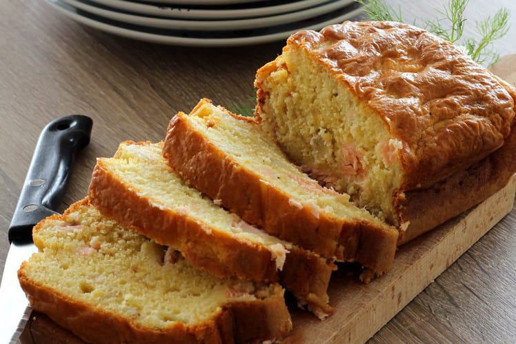 Cake saumon et fenouil