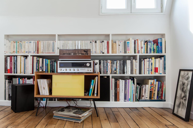 Bibliothèque: quel emplacement et rangement idéals pour les livres?