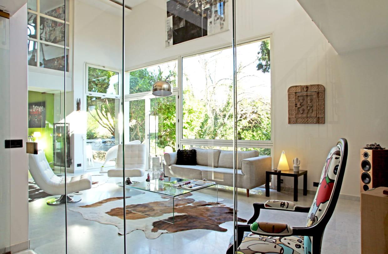 Une maison cube en pleine nature for Maison en pleine nature