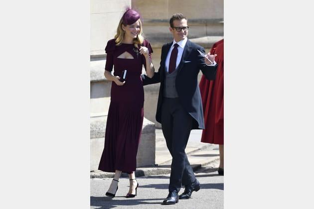 """L'acteur de """"Suits"""" Gabriel Macht et sa femme Jacinda Barrett"""