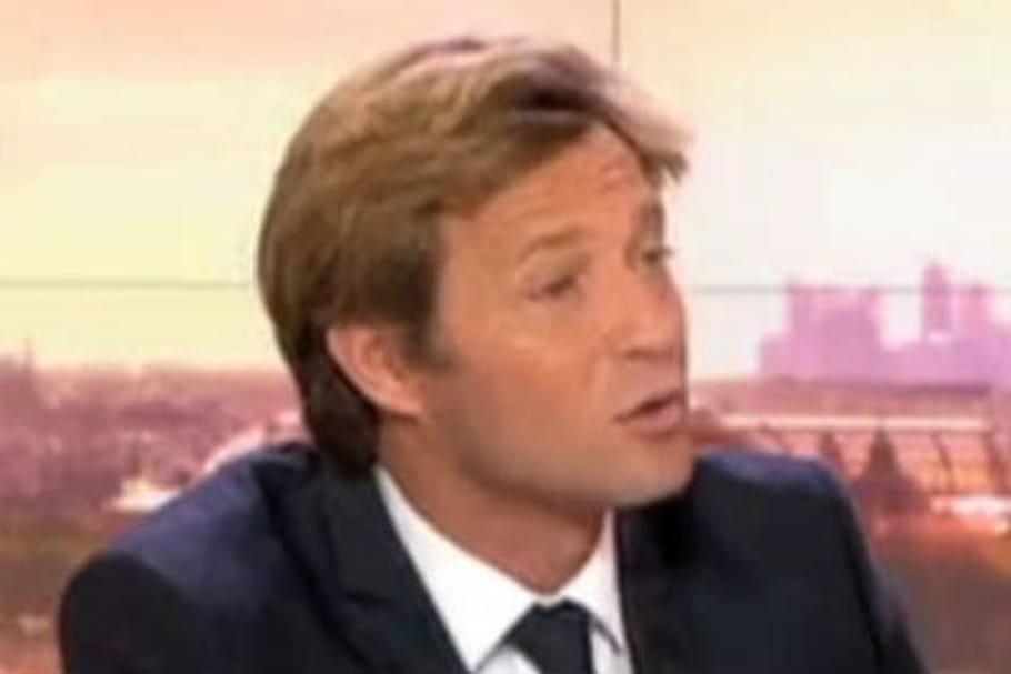 Laurent Delahousse, malmené par Nicolas Sarkozy