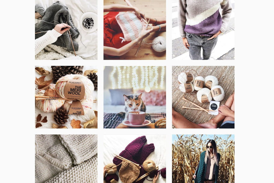 5comptes Instagram qui donnent envie de se mettre au tricot