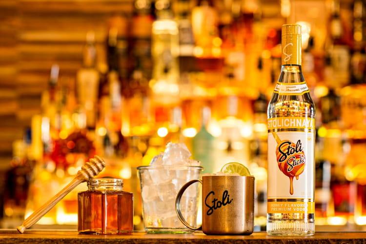 Cocktail Vodka Stiky Mule
