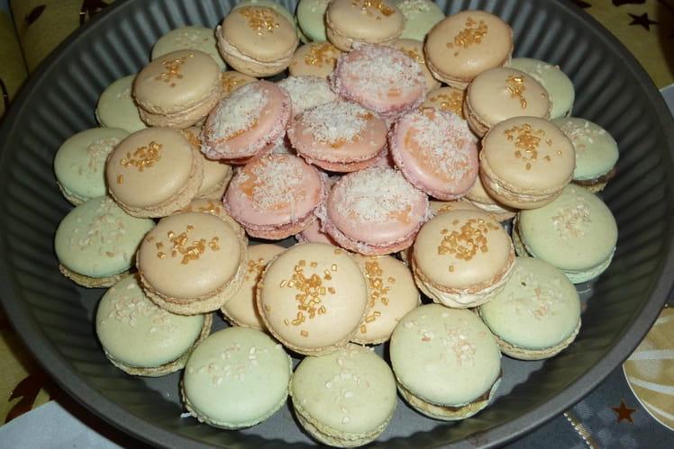 Macarons à la crème de foie gras et gelée au Gewurztraminer