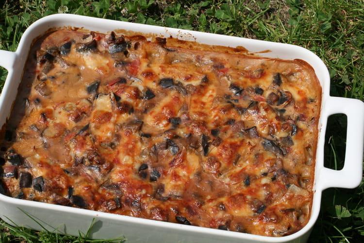 recette de gratin d'aubergines, tomates cerises et oignons : la