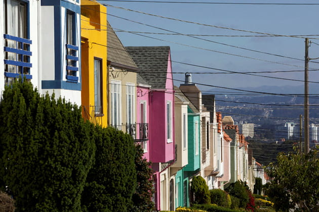 De la couleur dans les rues de San Francisco