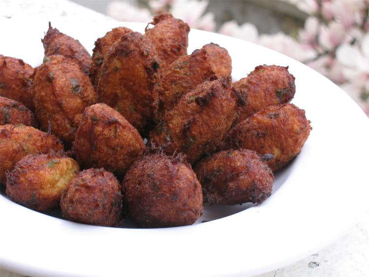 Recette accras de morue portugais la recette facile - Cuisiner la morue dessalee ...
