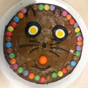 chat au chocolat-banane