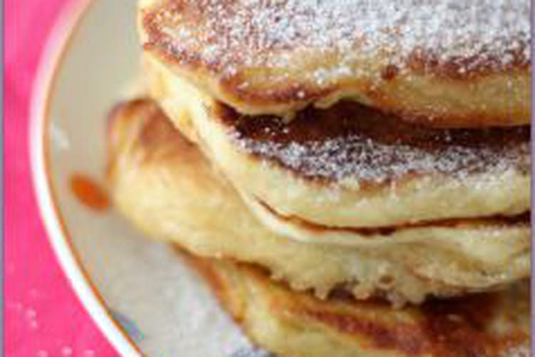 Pancakes moelleux au cottage-cheese