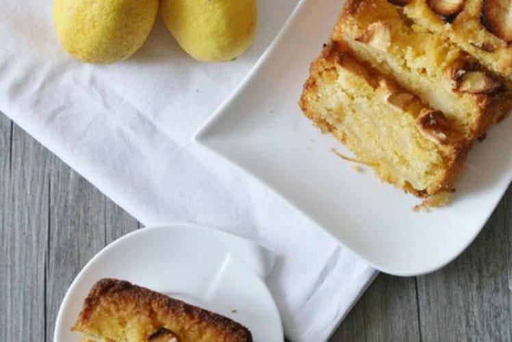 Cake polenta pommes - citron
