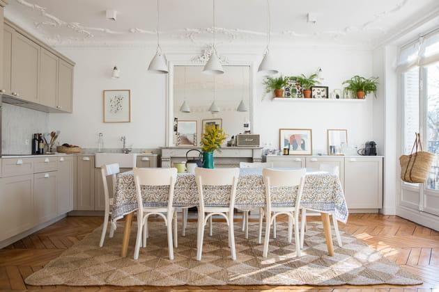 Une salle à manger comme à la campagne