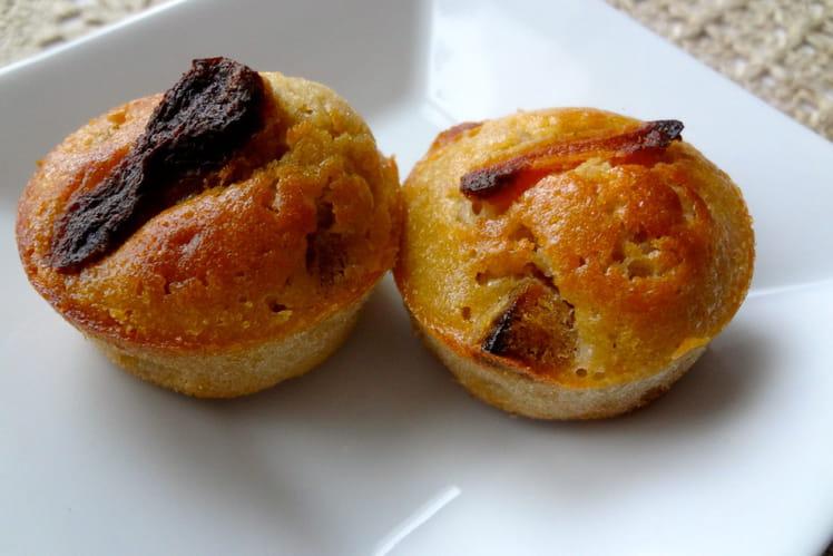 Muffins à la crème de marron et aux abricots