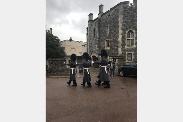 La relève de la Garde Royale