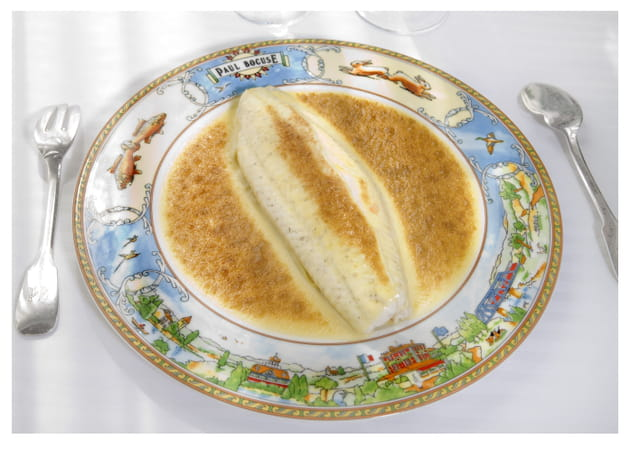 Filet de sole aux nouilles Fernand Point