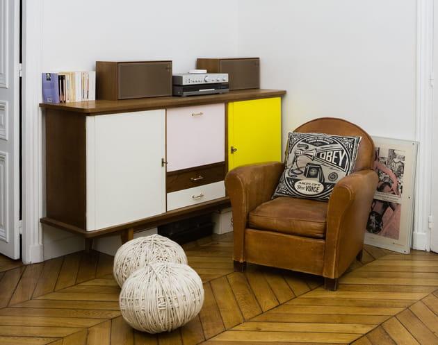 une ambiance brocante. Black Bedroom Furniture Sets. Home Design Ideas