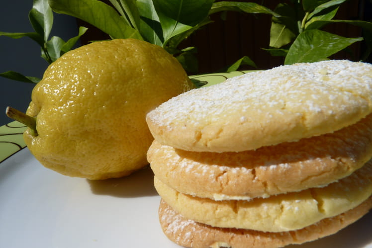 Biscuits citron-vanille