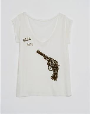 tee-shirt 'mc revolver' de swildens pour monoprix