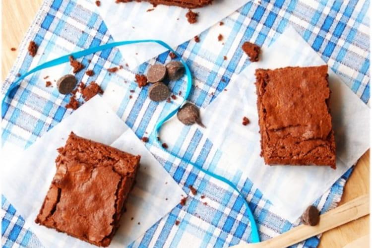 Brownie au chocolat noir crousti-fondant