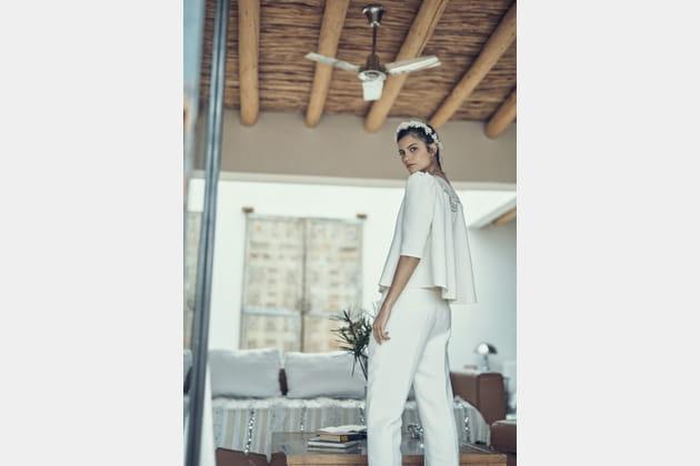 Top Smet et pantalon Blier, Laure de Sagazan 2019