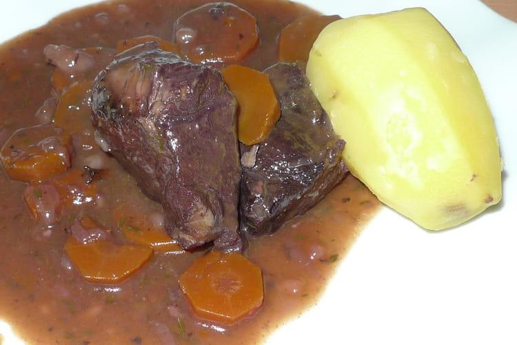 Bœuf bourguignon classique