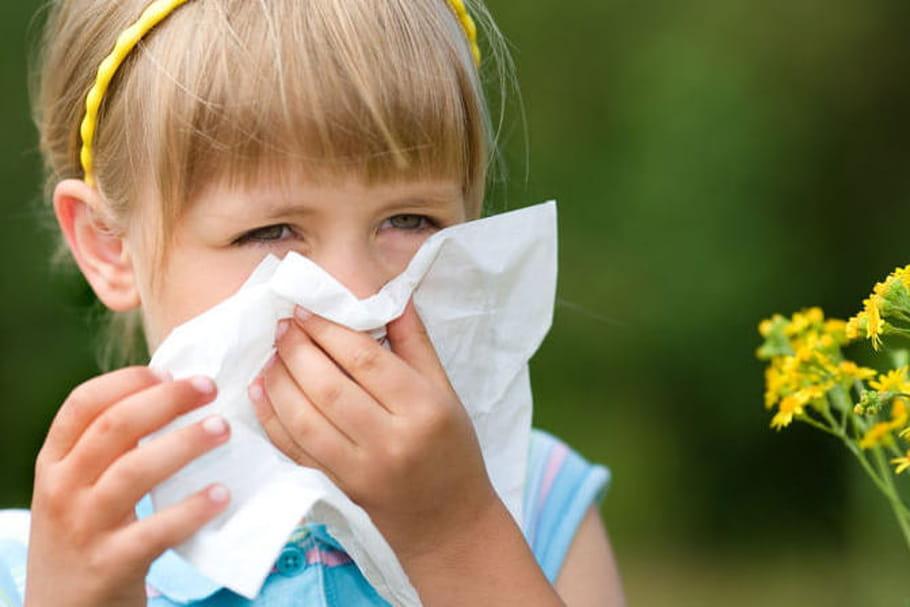 Mon enfant est allergique aux pollens!