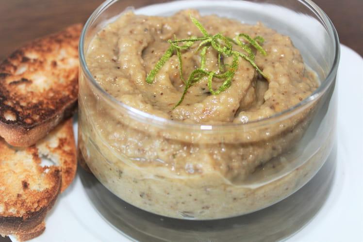 Caviar d'aubergine aux herbes de Provence