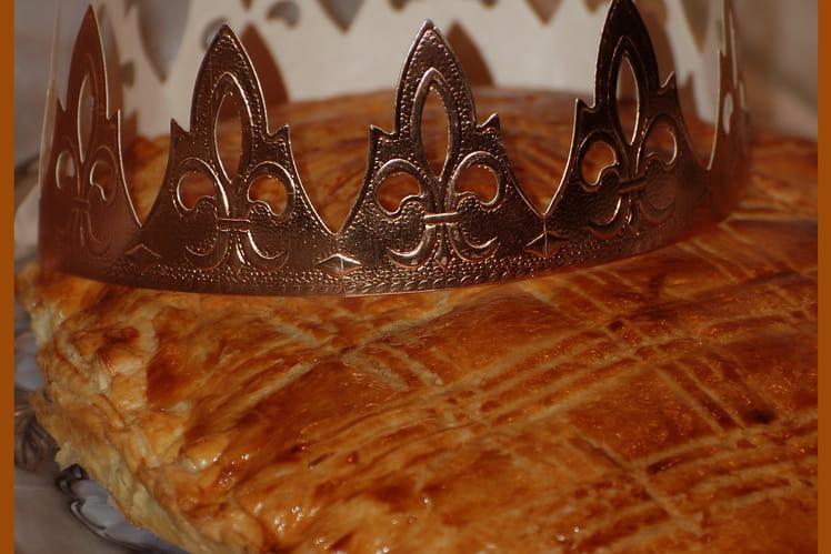 Galette des rois aux épices et citron