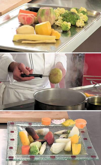cuisson des légumes anciens