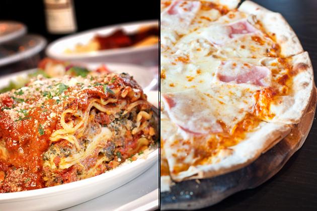 Lasagnes ou pizza jambon/fromage?