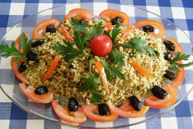 Quinoa gourmand en salade