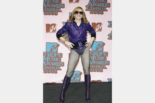 Madonna le 3novembre 2005