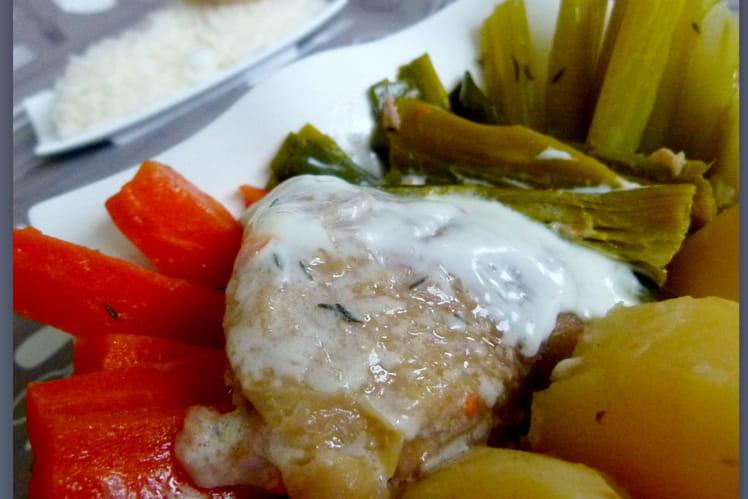 Poule au pot (recette du XVIème siècle)