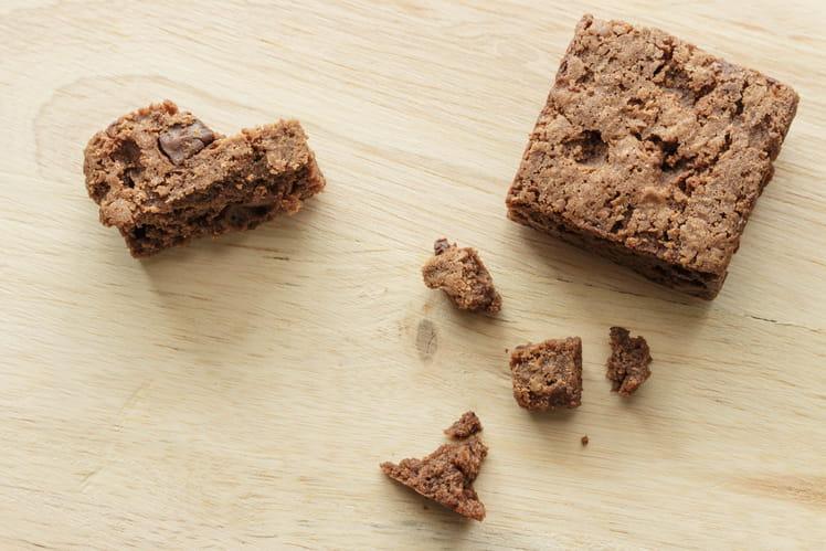 Brownies croustillants