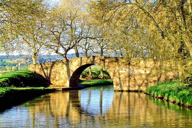 Le pont de la Rode, Trèbes