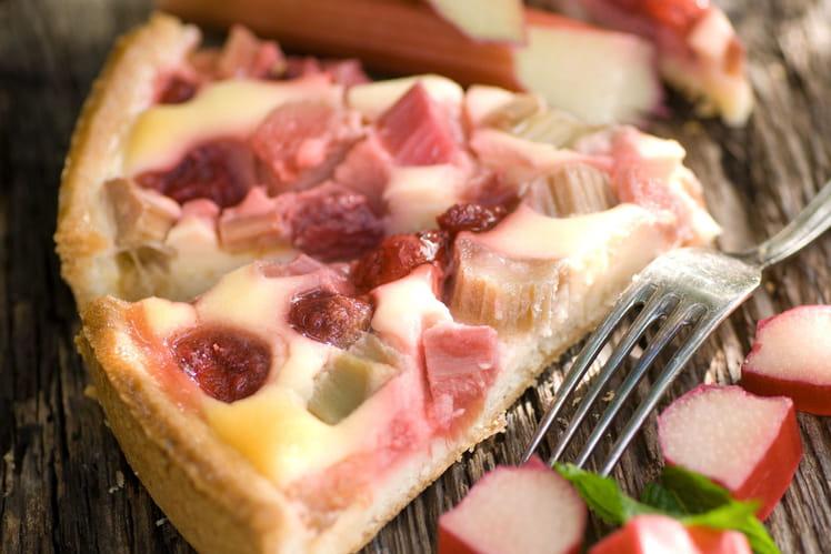 Tarte à la rhubarbe : la meilleure recette