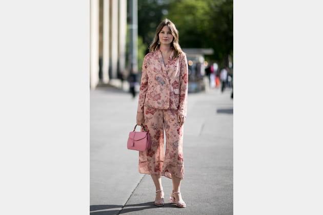 Street style à Paris : l'ensemble pyjama