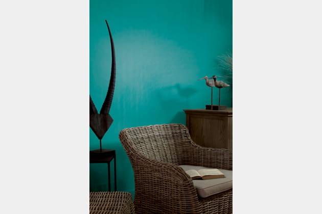 Peinture Bleu curaçao par Tollens pour Flamant