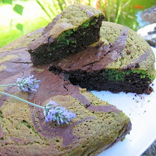gâteau choco-pistaches