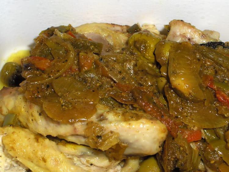 Recette de poulet marin au citron tomates et poivrons - Cuisiner les poivrons ...