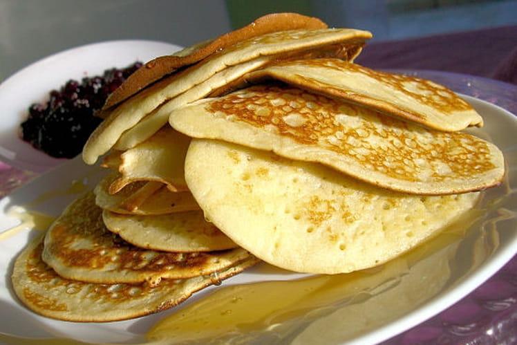 Pancakes au sucre vanillé