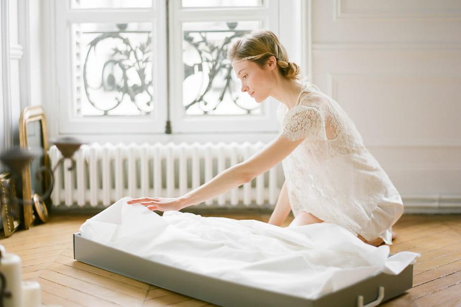 Et après le mariage ... vous avez fait quoi de votre robe??? 1