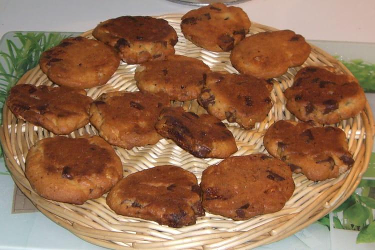 Cookies ultra gourmands aux trois chocolats