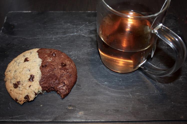 Cookies Ying - Yang - Nature et chocolat